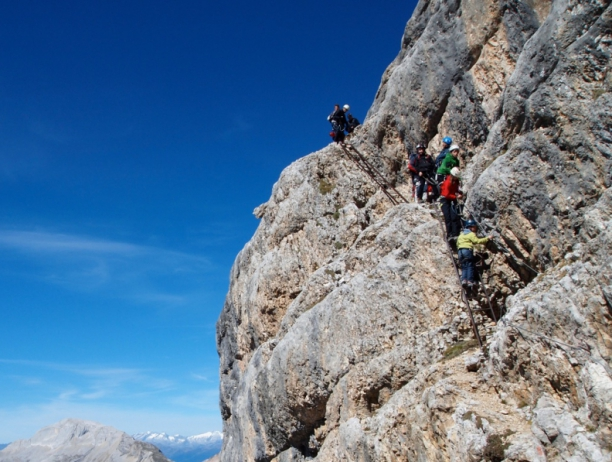 Dolomites home of alpinism